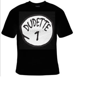 dudette t-shirt cool funny t-shirts cute gift present humor tee shirts