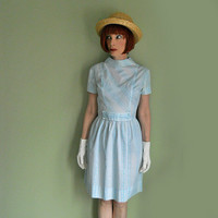 ON SALE Vintage 60s Teen Dress for Spring - Early 1960s Baby Doll Dress for Easter