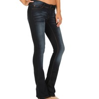 Sale-dark Denim Bootcut Jeans