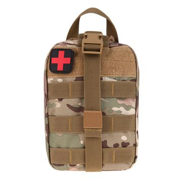 Tactical Medical First Aid Kit Bag Medical EMT Utility Medicine Carrier Pouch Outdoor Camping Hunting Traveling Emergency Bag