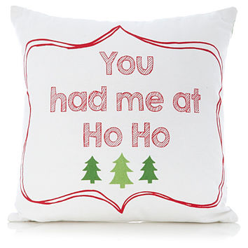 George Home You Had Me at Ho Ho Cushion | Cushions, Beanbags, Throws | ASDA direct