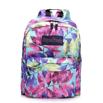 Comfort On Sale College Hot Deal Back To School Casual Classics Leaf Hot Sale Fashion Stylish Pc Backpack [4962071108]
