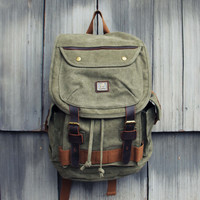 Nanum Falls Backpack in Sage