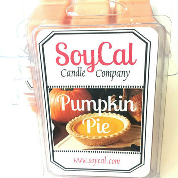 Pumpkin Pie wax melt - fall wax melt - fall wax tart - fall tart burner - thanksgiving candle