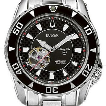 Bulova Men's Automatic Bracelet Watch 98A105