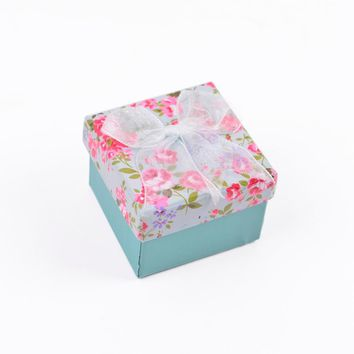 Jewelry Gift Box Boite A Bijoux De Rangement Caixa De Joias Macaron Cardboard Cheap Jewellery Boxes And Packaging Ring Paper Box