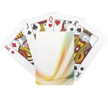 Abstract Swirl 2 Deck Of Cards