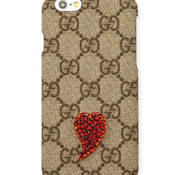 Gucci Beaded GG Supreme iPhone 6s/6s Plus Case
