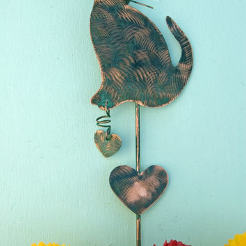 Exceptionnel SPECIAL 25% OFF CAT Garden Metal Plant Stake Outdoor Yard Art Co