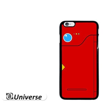 Pokemon Pokedex Red for iPhone 4 4s iPhone 5 5s iPhone 5c iPhone 6 iPhone 6 Plus iPod Touch 5 (2in1) Rubber TPU Silicone Phone Case