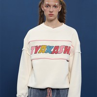 Tyakasha Toy Shop Oversized White Sweatshirt