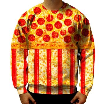 United States Pizza Sweatshirt