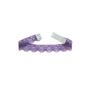 Superstrech Lace Choker in Lilac