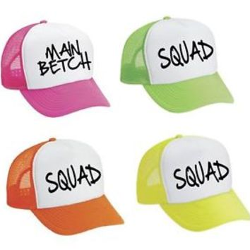 Snapback Hat Set Of 4 Main Betch And Squad party
