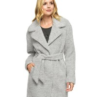 Long Brushed Wool Coat by Juicy Couture,