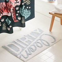 Clean/Dirty Bath Mat | Urban Outfitters