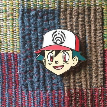 EDM Bass Music Festival Rave DJ Cartoon Anime Enamel Lapel Hat Pin