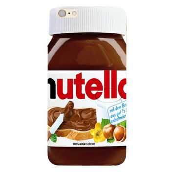 Nutella Phone Case For iPhone 7 7Plus 6 6s Plus 5 5s SE