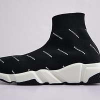 Balenciaga Speed stretch-knit Mid sneakers 494371 W 05G 100019