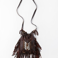 Bone & Tassel Bag - Antique Brown | Spell & the Gypsy Collective