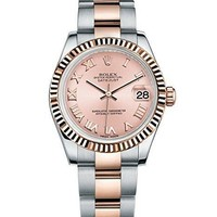 Rolex Lady Datejust 31 Steel Rose Gold watch Pink dial 178271