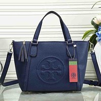 Tory Burch Women Fashion Leather Satchel Shoulder Bag Handbag Crossbody