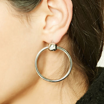 O-Ring Hoop Earrings
