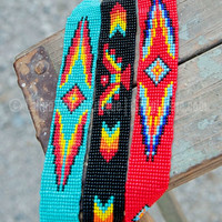THUNDERBIRD BEADED HEADBAND