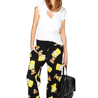 Black Simpson High Waisted Hip-Hop Pant