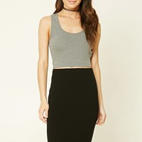Stretch-Knit Bodycon Skirt