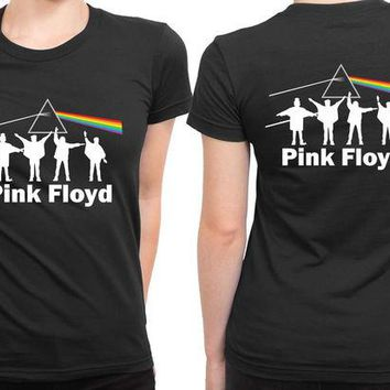 DCCKG72 Pink Floyd 2 Sided Womens T Shirt