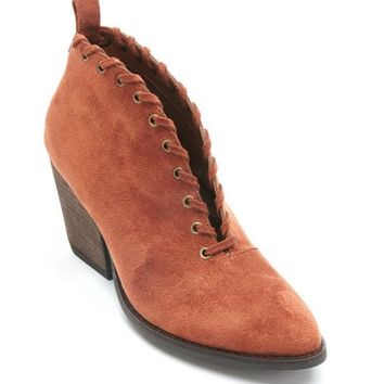 Coconuts by Matisse Alabama Saddle V-Cut Booties