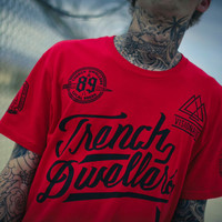 Visionaries Jersey Tee Red