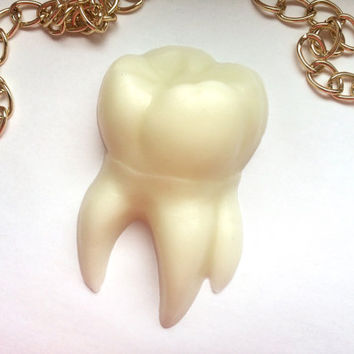 Tooth soap, teeth soaps, white chocolate soap, dentist gift, present for dentist, pearl soap, chocolate cosmetics, chocolate soap