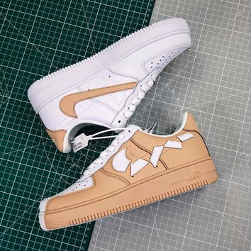 Hot Nike Air Force 1 Low Af1 White/khaki - Best Online Sale