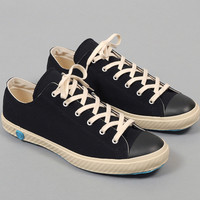 shoes like pottery - low top vulcanized sneakers black canvas
