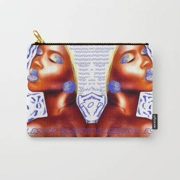 HIGHLY FAVORED Carry-All Pouch by violajohnsonriley