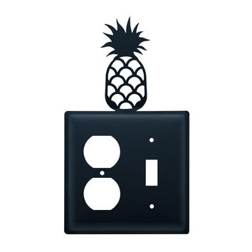 Pineapple Single Outlet and Switch Cover