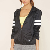Active Varsity-Striped Jacket
