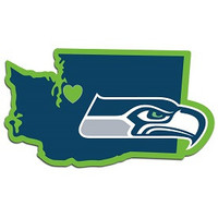 Home State Decal Seattle Seahawks - 46814