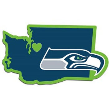 Seattle Seahawks Home State Decal