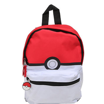 Pokémon Poké Ball Canvass Mini Backpack