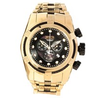Invicta 12753 Men's Reserve Bolt Zeus Gold Plated Steel Bracelet Chronograph Dive Watch