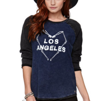 Kendall & Kylie Rolled Sleeve Baseball Tee at PacSun.com