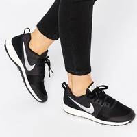 Nike Elite Shinsen Black & Silver Trainers