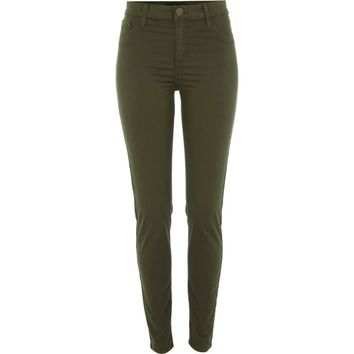 Khaki green Molly jeggings