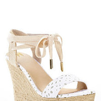 Ankle-wrap Wedge Sandal - VS Collection - Victoria's Secret