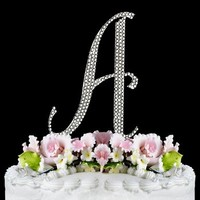 Swarovski Crystal Cake Topper on Luulla