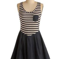 Stripes Ahoy Dress | Mod Retro Vintage Dresses | ModCloth.com