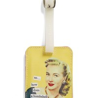 Anne Taintor 'Bombshell Like Me' Luggage Tag